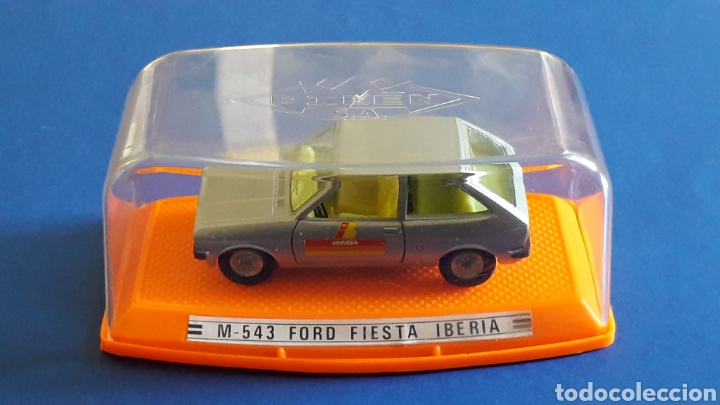 Coches a escala: Ford Fiesta Iberia ref. 543, metal esc. 1/43, Pilen made in Spain, original años 70-80. Con caja. - Foto 2 - 157778997