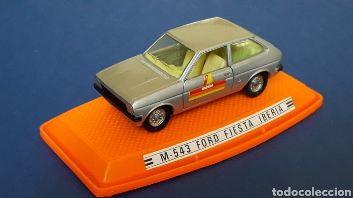 Coches a escala: Ford Fiesta Iberia ref. 543, metal esc. 1/43, Pilen made in Spain, original años 70-80. Con caja. - Foto 3 - 157778997