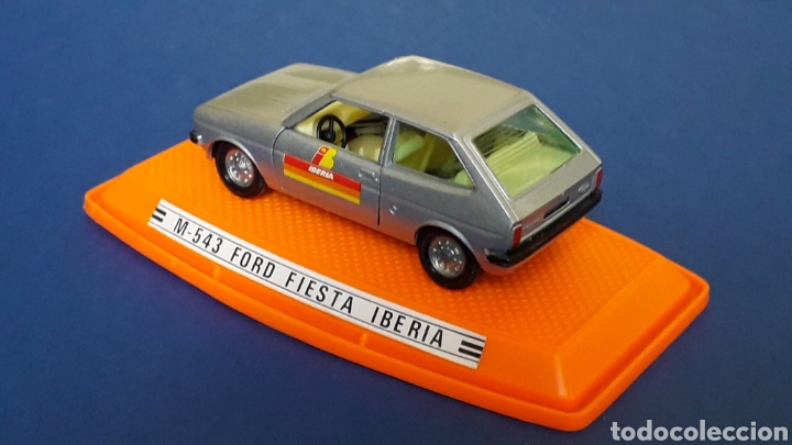 Coches a escala: Ford Fiesta Iberia ref. 543, metal esc. 1/43, Pilen made in Spain, original años 70-80. Con caja. - Foto 4 - 157778997