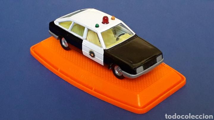 Coches a escala: Talbot 150 Policía ref. 553, metal esc. 1/43, Pilen made in Spain, original años 80. Con caja. - Foto 6 - 157779562