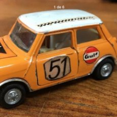 Coches a escala: MINI COOPER AUTO PILEN MOD.319 1/43 MADE IN SPAIN. Lote 159010025