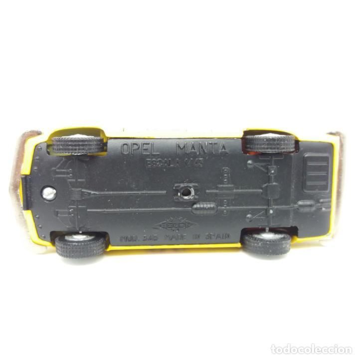 Coches a escala: OPEL MANTA RALLY PILEN MOD 345 ESCALA 1/43 CS, Pirelli, Shell, Cibié. Excelente estado. Para vitrina - Foto 4 - 161792274