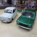 Coches a escala: LOTE MINIATURAS PILEN 1ªSERIE 1973,1974.SEAT 600 Y SEAT 127.ESC.1/43.. Lote 161938286