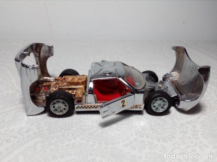 Coches a escala: FORD MARK II CROMADO MARCA AUTO PILEN - MOD. 311 - MADE IN SPAIN- - Foto 8 - 202897295