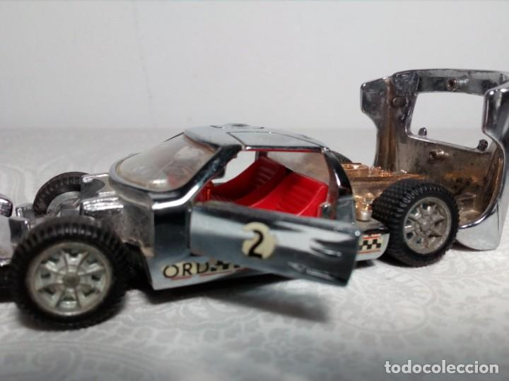 Coches a escala: FORD MARK II CROMADO MARCA AUTO PILEN - MOD. 311 - MADE IN SPAIN- - Foto 12 - 202897295
