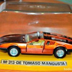 Coches a escala: DE TOMASO MANGUSTA M-313 DE PILEN. ESCALA 1/43. Lote 173661542