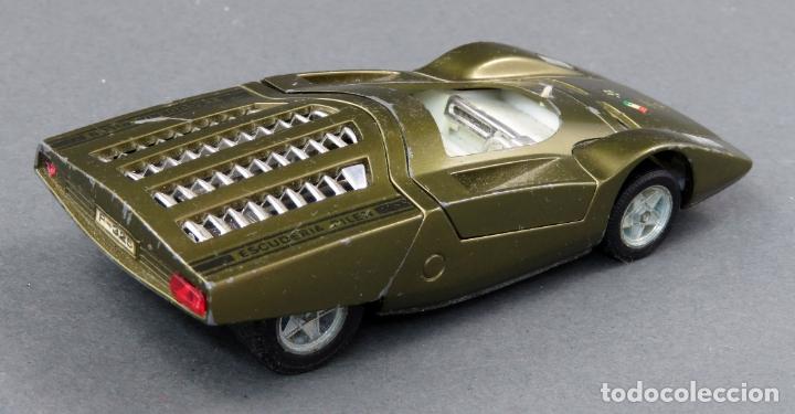 Coches a escala: Ferrari 512 SD Auto Pilen 1/43 verde metalizado - Foto 2 - 174962765