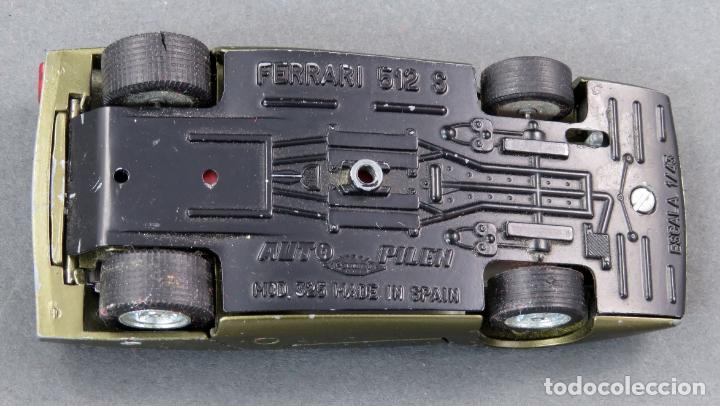 Coches a escala: Ferrari 512 SD Auto Pilen 1/43 verde metalizado - Foto 3 - 174962765