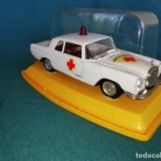 Coches a escala: COCHE PILEN MERCEDES AMBULANCIA ESCALA 1/43. Lote 131665430
