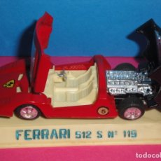 Coches a escala: FERRARI 512 S. AUTO PILEN. Lote 180413487