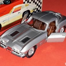 Coches a escala: CHEVROLET CORVETTE STINGRAY REF. 300, METAL ESC. 1/43 *CORGI TOYS COPY* PILEN IBI SPAIN, AÑOS 60-70.. Lote 180512673