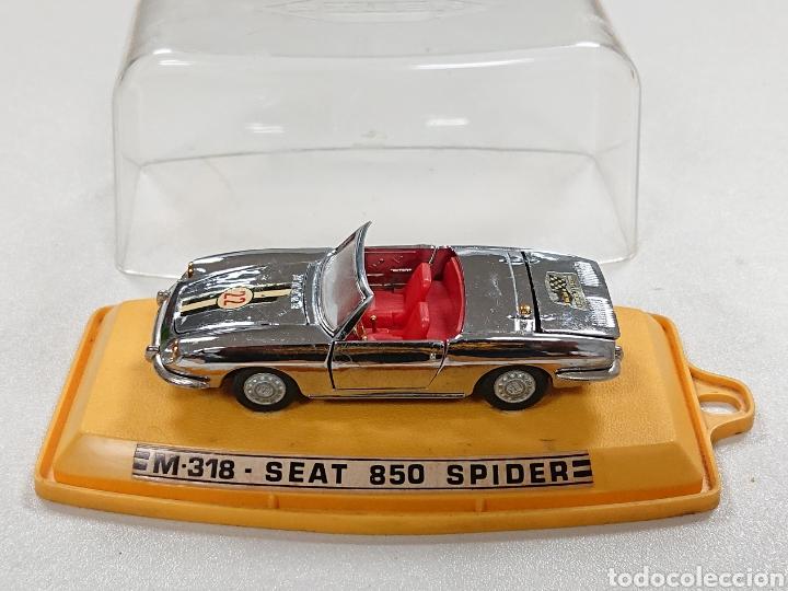 SEAT 850 SPIDER CROMADO DE PILEN REF. M-318 (Juguetes - Coches a Escala 1:43 Pilen)