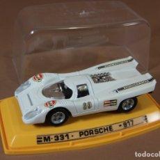Coches a escala: MIRA ANTIGUO PILEN PORSCHE 917 ESC 1-43 MADE IN SPAIN ESPAÑA METAL 1970S NUEVO CON CAJA VINTAGE. Lote 182808578