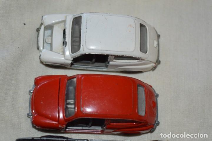Coches a escala: Lote 4 coches variados de PILEN -- ANTIGUOS - MADE IN SPAIN - Originales y antiguos - Foto 2 - 182968712