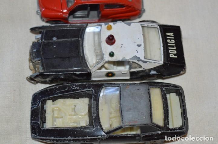 Coches a escala: Lote 4 coches variados de PILEN -- ANTIGUOS - MADE IN SPAIN - Originales y antiguos - Foto 3 - 182968712