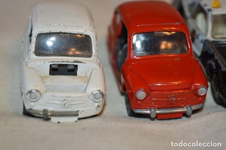 Coches a escala: Lote 4 coches variados de PILEN -- ANTIGUOS - MADE IN SPAIN - Originales y antiguos - Foto 4 - 182968712
