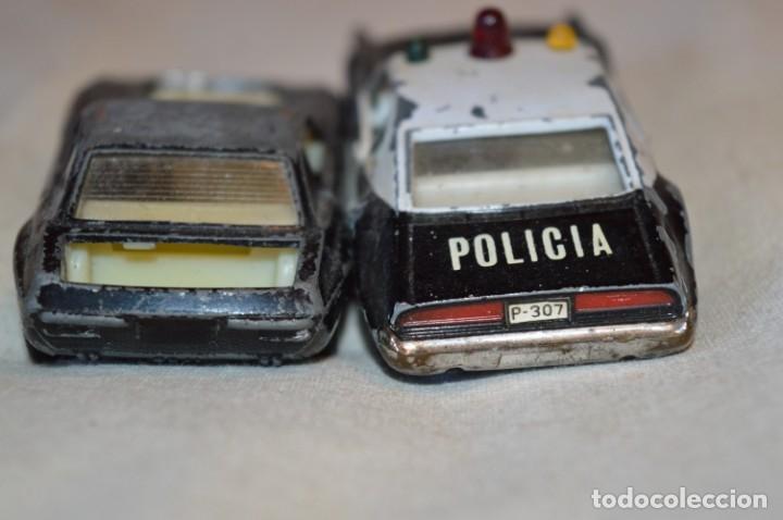 Coches a escala: Lote 4 coches variados de PILEN -- ANTIGUOS - MADE IN SPAIN - Originales y antiguos - Foto 6 - 182968712