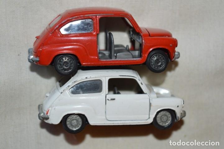 Coches a escala: Lote 4 coches variados de PILEN -- ANTIGUOS - MADE IN SPAIN - Originales y antiguos - Foto 8 - 182968712