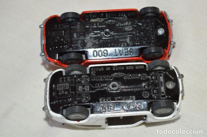 Coches a escala: Lote 4 coches variados de PILEN -- ANTIGUOS - MADE IN SPAIN - Originales y antiguos - Foto 10 - 182968712