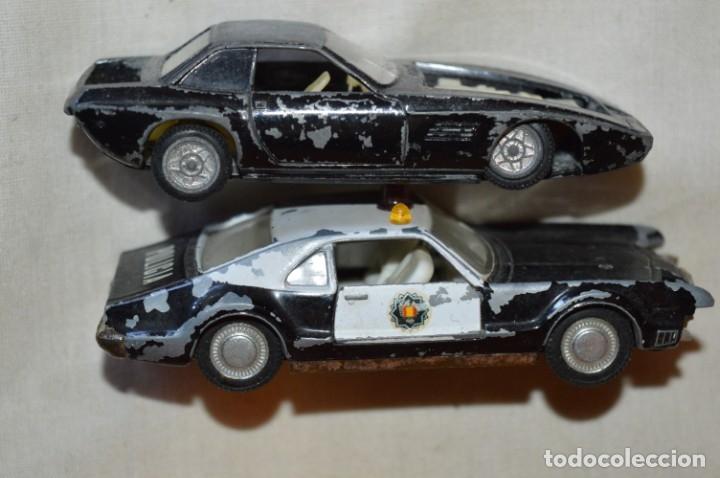 Coches a escala: Lote 4 coches variados de PILEN -- ANTIGUOS - MADE IN SPAIN - Originales y antiguos - Foto 11 - 182968712