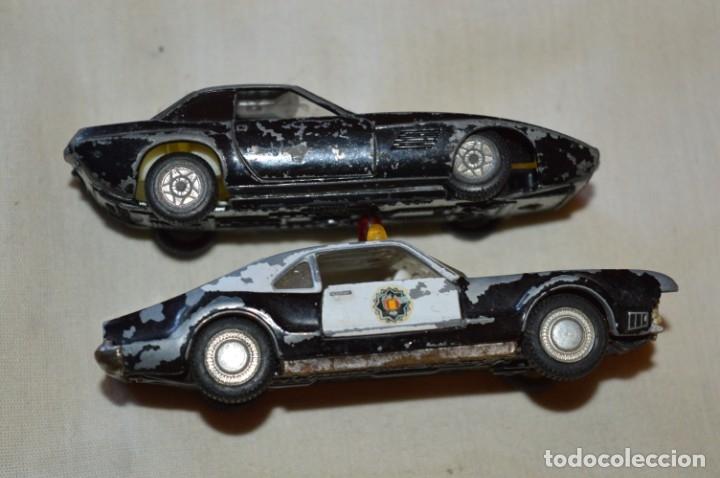Coches a escala: Lote 4 coches variados de PILEN -- ANTIGUOS - MADE IN SPAIN - Originales y antiguos - Foto 12 - 182968712