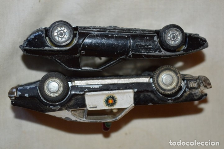 Coches a escala: Lote 4 coches variados de PILEN -- ANTIGUOS - MADE IN SPAIN - Originales y antiguos - Foto 14 - 182968712