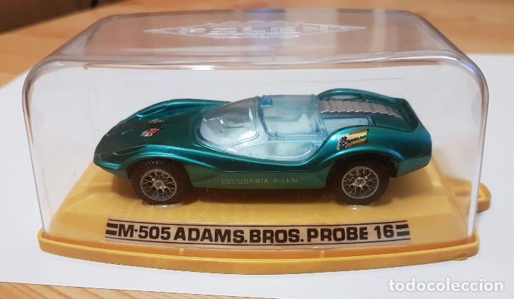 COCHE AUTO PILEN M-505 ADAMS BROS. PROBE 16, 1/43 (Juguetes - Coches a Escala 1:43 Pilen)