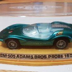 Coches a escala: COCHE AUTO PILEN M-505 ADAMS BROS. PROBE 16, 1/43. Lote 183191742