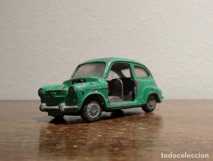 Coches a escala: SEAT 600 - MODELO 335 8/74 - VER FOTOS - Foto 3 - 183743886