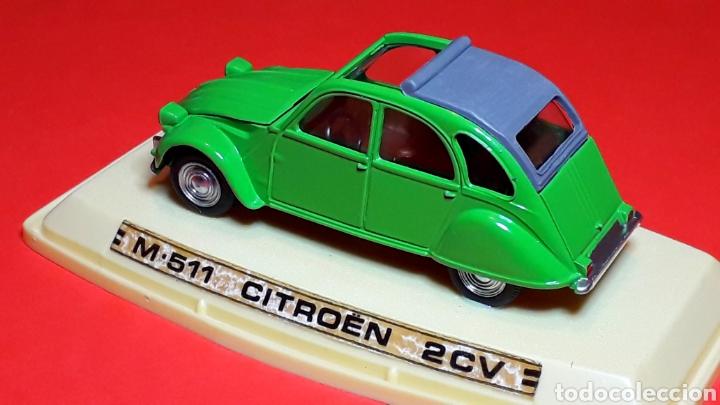 Coches a escala: Citroën 2CV 2 CV ref. 511, metal esc. 1/43, Pilen IBI made in Spain, original años 70. Con caja. - Foto 5 - 189384796