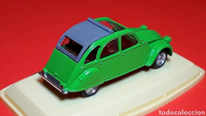 Coches a escala: Citroën 2CV 2 CV ref. 511, metal esc. 1/43, Pilen IBI made in Spain, original años 70. Con caja. - Foto 7 - 189384796