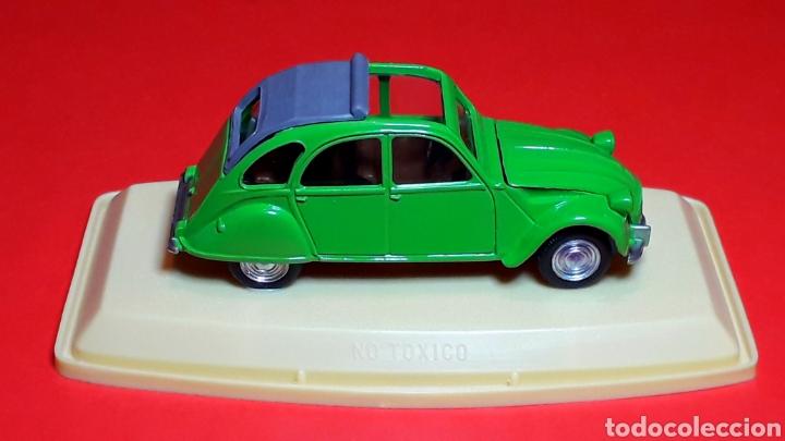 Coches a escala: Citroën 2CV 2 CV ref. 511, metal esc. 1/43, Pilen IBI made in Spain, original años 70. Con caja. - Foto 8 - 189384796