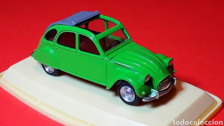 Coches a escala: Citroën 2CV 2 CV ref. 511, metal esc. 1/43, Pilen IBI made in Spain, original años 70. Con caja. - Foto 9 - 189384796