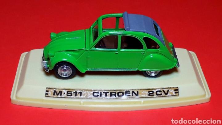 Coches a escala: Citroën 2CV 2 CV ref. 511, metal esc. 1/43, Pilen IBI made in Spain, original años 70. Con caja. - Foto 10 - 189384796