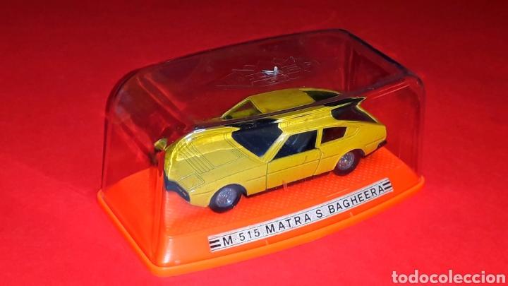 Coches a escala: Matra Simca Bagheera ref. 515, metal esc 1/43, Pilen Ibi made in Spain, original años 70-80. Caja. - Foto 2 - 189716550