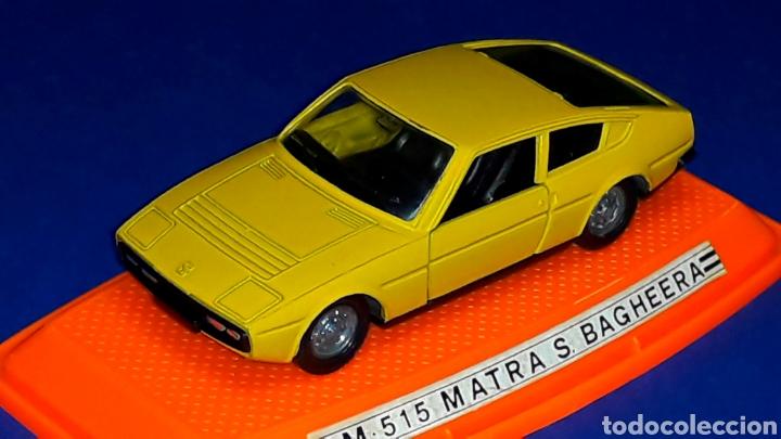 Coches a escala: Matra Simca Bagheera ref. 515, metal esc 1/43, Pilen Ibi made in Spain, original años 70-80. Caja. - Foto 5 - 189716550