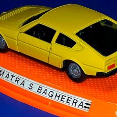 Coches a escala: MATRA SIMCA BAGHEERA REF. 515, METAL ESC 1/43, PILEN IBI MADE IN SPAIN, ORIGINAL AÑOS 70-80. CAJA.. Lote 189716550