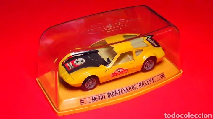 Coches a escala: Monteverdi Hai 450 Rallye ref. 301, metal esc 1/43, Pilen Ibi made in Spain, original años 70. Caja. - Foto 2 - 190143530