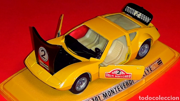 Coches a escala: Monteverdi Hai 450 Rallye ref. 301, metal esc 1/43, Pilen Ibi made in Spain, original años 70. Caja. - Foto 3 - 190143530