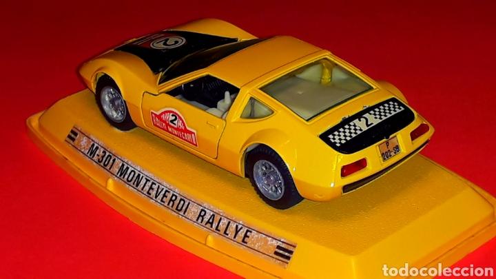 Coches a escala: Monteverdi Hai 450 Rallye ref. 301, metal esc 1/43, Pilen Ibi made in Spain, original años 70. Caja. - Foto 4 - 190143530