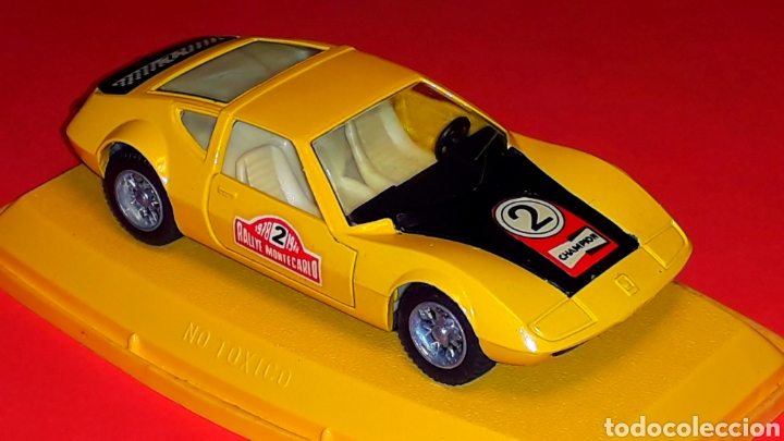 Coches a escala: Monteverdi Hai 450 Rallye ref. 301, metal esc 1/43, Pilen Ibi made in Spain, original años 70. Caja. - Foto 6 - 190143530