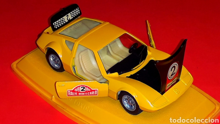 Coches a escala: Monteverdi Hai 450 Rallye ref. 301, metal esc 1/43, Pilen Ibi made in Spain, original años 70. Caja. - Foto 7 - 190143530