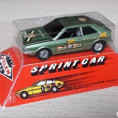 Coches a escala: VW VOLKSWAGEN SCIROCCO SPRINT CAR, METAL ESC. 1/43, PILEN MADE IN SPAIN, ORIGINAL AÑOS 70. CAJA.. Lote 198848281
