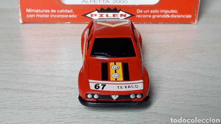 Coches a escala: Alfa Romeo Alfetta GTV 2000 ref. 253, metal esc. 1/43, Pilen Ibi made in Spain, original años 70. - Foto 2 - 198959715