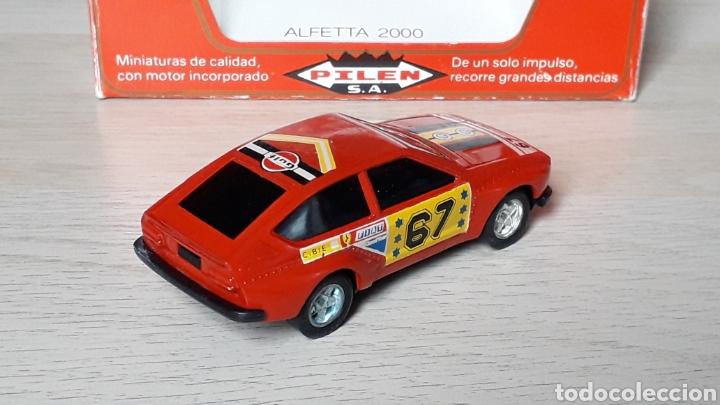 Coches a escala: Alfa Romeo Alfetta GTV 2000 ref. 253, metal esc. 1/43, Pilen Ibi made in Spain, original años 70. - Foto 3 - 198959715