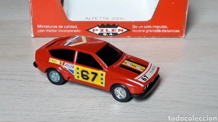 Coches a escala: Alfa Romeo Alfetta GTV 2000 ref. 253, metal esc. 1/43, Pilen Ibi made in Spain, original años 70. - Foto 4 - 198959715