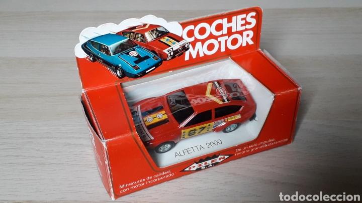 Coches a escala: Alfa Romeo Alfetta GTV 2000 ref. 253, metal esc. 1/43, Pilen Ibi made in Spain, original años 70. - Foto 6 - 198959715
