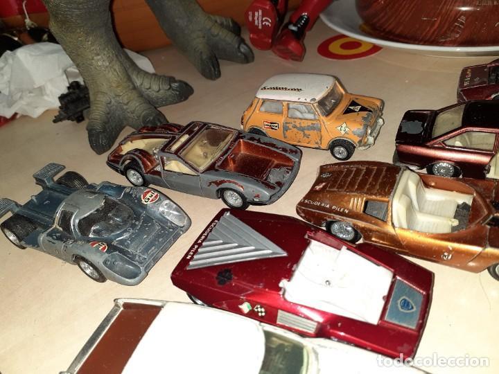 Coches a escala: Auto Pilen.Lote de 8 miniaturas años 70 para piezas o restaurar.Desguace.Citroen,Seat,Mini,..... - Foto 3 - 204139586