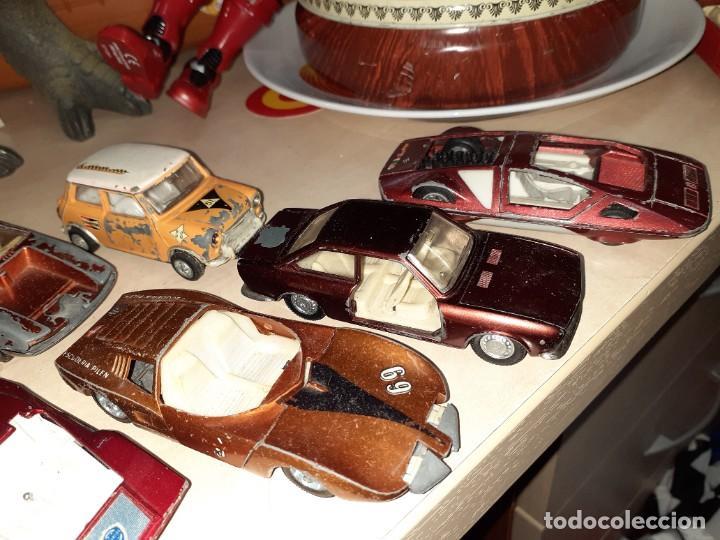 Coches a escala: Auto Pilen.Lote de 8 miniaturas años 70 para piezas o restaurar.Desguace.Citroen,Seat,Mini,..... - Foto 4 - 204139586