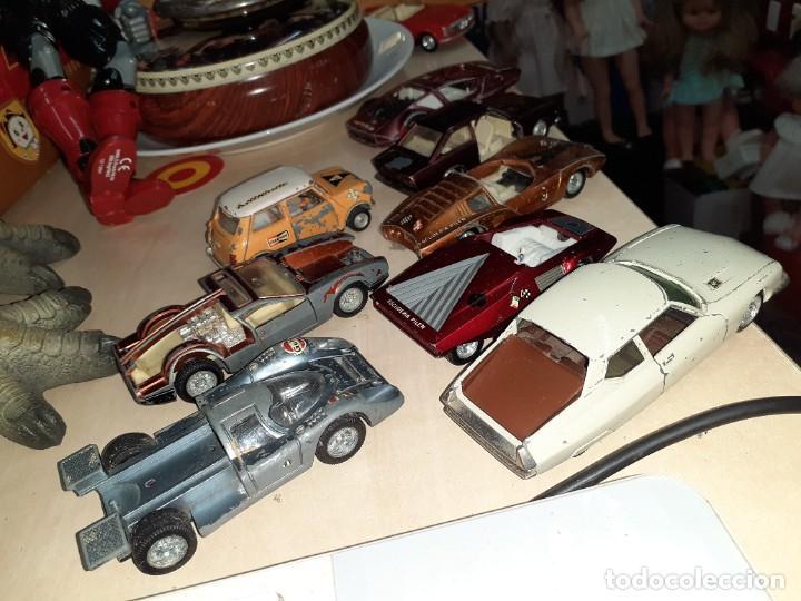 Coches a escala: Auto Pilen.Lote de 8 miniaturas años 70 para piezas o restaurar.Desguace.Citroen,Seat,Mini,..... - Foto 5 - 204139586